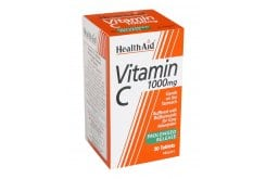 Health Aid Vitamin C 1000mg with Bioflavonoids Prolonged release,30tabs