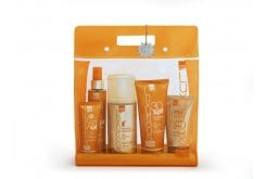 Intermed Luxurious High Protection Pack, Πακέτο Αντιηλιακής προστασίας με Body Cream SPF30, 200ml & Face Cream SPF50+, 75ml & Suncare Tanning Oil Spf6, 200ml & After Sun Cooling Gel, 150ml & Hydrating Antioxidant Mist, 400ml