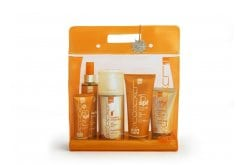 Intermed Luxurious Suncare, Πακέτο Αντιηλιακής προστασίας με Sunscreen Cream Spf 15, 200ml & Face Cream Spf 50, 75ml & Dark Tanning Oil, 200ml & After Sun Cooling Gel, 150ml & Hydrating Antioxidant Mist, 400ml