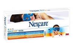 NEXCARE ColdHot Mask, Μάσκα προσώπου για κρυοθεραπεία / θερμοθεραπεία, καταπραΰνει τους πόνους με φυσική θεραπευτική δύναμη, 1 τμχ