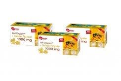 3 x Power Health Zell Oxygen + Gelee Royale 1000mg Συμπλήρωμα με Βασιλικό Πολτό για Έξτρα Τόνωση & Ενέργεια, 3 x (14 x 20ml)