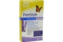 Abbott FreeStyle Precision β-ketone Ταινίες Μέτρησης Γλυκόζης & Κετόνης, 10τμχ