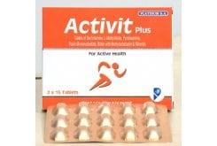 PlatinumActivit Plus Tablets Σύμπλεγμα Βιταμινών Β, Χολίνη, Ινοσιτόλη & Βασικά Μέταλλα, 2 x 15 tabs