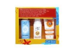 Αg Pharm Promo Pack Propolis After Sun & Tattoo 100ml Sunscreen Face SPF50+ Tinted 75ml & Sunscreen Body Lotion 100ml