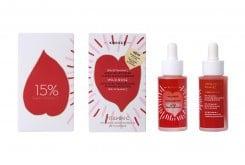 Korres Wild Rose Διφασικό Booster για Λάμψη & Επανόρθωση με 15% Vitamin C, 30ml