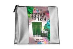 Ahava Set Celebrate Your Skin, Mineral Radiance Energizing Day Cream SPF 15, Κρέμα Ημέρας Για Λάμψη, 50ml & Instant Detox Mud Mask, Μάσκα Προσώπου Αποτοξίνωσης Κατά Των Ρύπων, 100ml & Cleansing Gel, Τζέλ Καθαρισμού Προσώπου Για Λάμψη, 100ml