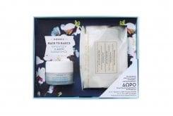 Korres Σετ Προσφοράς για Ξηρές/Αφυδατωμένες Επιδερμίδες με Κρέμα Ενυδάτωσης & Προστασίας Άνθη Αμυγδαλιάς, 40ml & ΔΩΡΟ Μαντηλάκια Καθαρισμού & Ντεμακιγιάζ Πρωτείνες Γάλακτος, 25 τεμάχια