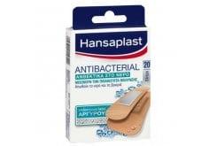 HansaplastAntibacterial Επιθέματα με Αντιβακτηριακή Δράση Άργυρου, 20 Strips