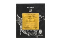 Apivita Express Beauty Tissue Face Mask Mastic Μάσκα