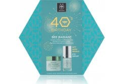 Apivita PROMO 40's Birthday with Bee Radiant Rich Cream Anti-Aging Face Cream with Rich Texture, 50ml & GIFT 5 Action Eye Serum Innovative Intensive Moisturizing & Anti-Aging with White Lily, 15ml