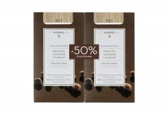 Korres PROMO -50% ΣΤΗ ΔΕΥΤΕΡΗ ΒΑΦΗ Argan Oil Advanced Colorant 10.1 Ξανθό Πλατίνας Σαντρέ Μόνιμη Βαφή Μαλλιών με Τεχνολογία Pigment Lock που Κλειδώνει το Χρώμα, 50ml