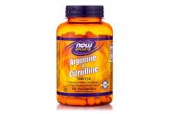 Now Arginine & Citruline 500/250mg, 120 Caps