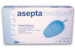 Asepta Plastic Bedpan, 1 pc