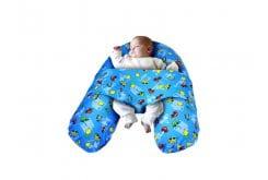 Anatomic Help Breastfeeding Pillow - Relax Μαξιλάρι Θηλασμού & Χαλάρωσης, 1 τεμάχιο - Μπλε