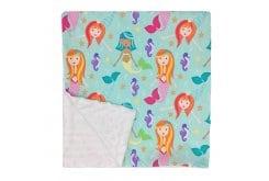 Baby Elephant Ears Υπερ-απαλή Κουβέρτα Mermaid, 1 τεμάχιο