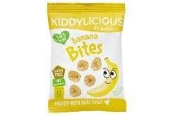 Kiddylicious Banana Bites 12m+ Πατατάκια Μπανάνα, 15gr