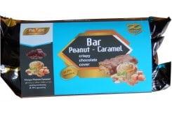3 x Prevent Crunch Protein Bar 33% Peanut Caramel Υποκατάστατο Γεύματος σε Μπάρα, με γεύση Φυστίκι Καραμέλα, 3 x 50gr