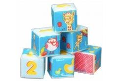 Sophie la Girafe Bath Cubes 523418 Κύβοι Παιχνίδι Μπάνιου, 6 τεμάχια