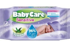 BabyCare Sensitive Μωρομάντηλα για το ευαίσθητο βρεφικό δέρμα, 63 τεμάχια