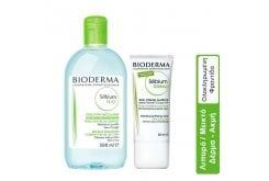 Bioderma Σετ Περιποίησης Προσώπου για Μικτό ή Λιπαρό Δέρμα με Ατέλειες Sebium H2O, 500ml & Sebium Global, 30ml Νερό Καθαρισμού & Θεραπεία για Δέρμα με Ακμή & Σοβαρές Ατέλειες