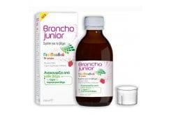 Bronchojunior Σιρόπι για τον Βήχα για Παιδιά 1+ ετών, 200ml