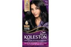 Wella Koleston Black Βαφή Μαλλιών Νο 2.0 Μαύρο, 50ml