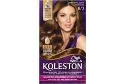 Wella Koleston Dark Gold Blonde Βαφή Μαλλιών Νο 6.3 Ξανθό Σκούρο Χρυσό, 50ml