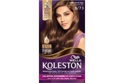 Wella Koleston Dark Tobacco Βαφή Μαλλιών Νο 6.73 Ξανθό Σκούρο Μελί, 50ml