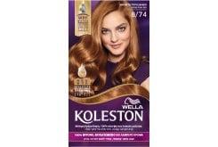 Wella Koleston Hazelnut Temptation Βαφή Μαλλιών Νο 8.74 Ξανθό Καφέ Χάλκινο, 50ml