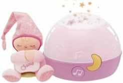 Chicco First Dreams (007647.10) Κοντά στα Αστέρια Πρωτοποριακός προβολέας σε Ροζ χρώμα, 1 τμχ