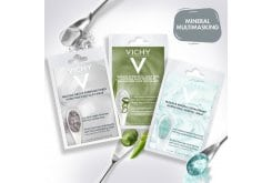 Vichy Πακέτο Mineral Multimasking για Καθαρισμό, Καταπράυνση & Εντατική Ενυδάτωση με Pore Purifying Clay Mask, 2 x 6ml & Soothing Aloe Vera Mask, 2 x 6ml & Quenching Mineral Mask, 2 x 6ml