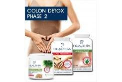Healthia PROMO Colon Detox Phase 2 Bowel Detoxification Pack, 3 items