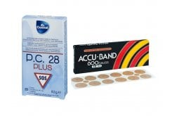 Cosval Pack with P.C. 28 Complex Herbal Painkiller & Protection of Cartilage and Joints, 30 tabs & TOGETHER Accu Band 800 Gauss Magnetic Patch, 12 pcs