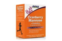 Now Cranberry, Mannose & Probiotics, 24 packets/box
