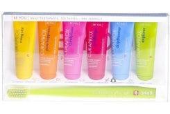 Curaprox Be You Six Taste Pack, 6 οδοντόκρεμες x 10ml & 1 οδοντόβουρτσα - Explorer