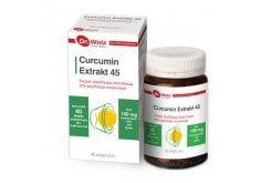 Power Health Dr. Wolz Curcumin Extrakt 45 Συμπλήρωμα Διατροφής Με Εκχύλισμα Κουρκουμά, 40caps