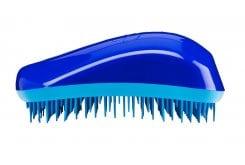 Dessata , επαναστατική βούρτσα μαλλιών που ξεμπερδεύει απαλά τα μαλλιά , ακόμα και όταν είναι βρεγμένα - Τιρκουάζ - Μπλε