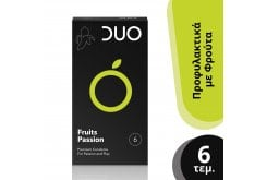 DUO Fruits Passion Condoms with Tastes, 6 pieces