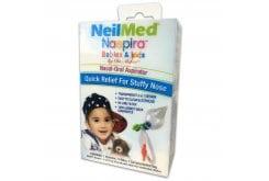 Getremed NeilMed Naspira Babies & Kids Ρινικός Αναρροφητήρας για βρέφη & παιδιά, 1 αποφρακτήρας, 7 Φίλτρα & Θήκη Μεταφοράς