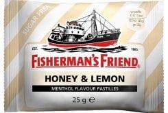 Fisherman's Friend Honey & Lemon Καραμέλες Μέλι & Λεμόνι, 25gr