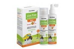 Frezyderm Lice Free Set Ολοκληρωμένη Αγωγή για Ψείρες Σαμπουάν & Λοσιόν, 2 X 125ml