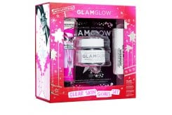 Glamglow Clear Skin Goals Set Ολοκληρωμένη Περιποίηση Προσώπου με Supermud Mask, 50g & Bubblesheet Mask, 1τεμάχιο & Superserum, 10ml & Glowstarter Nude Glow, 30ml