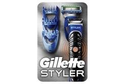 Gillette Styler Trimmer Γενειάδας Ξυριστική Μηχανή Περιποίησης 3 σε 1, 1 trimmer, 1 κεφαλή ξυρίσματος ProGlide & 3 χτένες