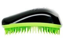Dessata , επαναστατική βούρτσα μαλλιών που ξεμπερδεύει απαλά τα μαλλιά , ακόμα και όταν είναι βρεγμένα - Πράσινο - Μαύρο