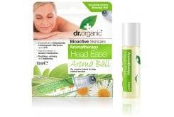 Dr. OrganicHead Ease Aroma Ball Ίαμα για πιο Καθαρό Μυαλό, με συνδυασμό Αιθέριων Ελαίων, 10ml