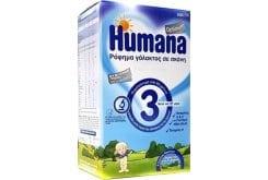 Humana Optimum 3 Βρεφικό Γάλα σε Σκόνη για Μετά τον 12ο μήνα, 600gr