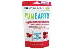 Yumearth Organic Hard Candies Βιολογικές Καραμέλες Φρούτων, 85gr