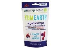 Yumearth Organic Drops Vitamin C Βιολογικές Καραμέλες Φρούτων με Βιταμίνη C, 93gr