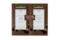 Korres PROMO -50% IN SECOND PAINT Argan Oil Advanced Colorant 6.1 Dark Sandy Blonde, Permanent Color Hair Ligation Pigment Lock Technology, 50ml