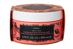 Korres Dual Hyaluronic Multi Actionbody Souffle Peach Deep Moisturizing, 200ml